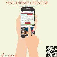 Yeni Şubemiz Cebinizde. #112UçakBileti #responsive #uçakbileti #112bilet
