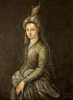 Portrait of Mihrimah Sultan, the daughter of Suleiman the Magnificent and Hurrem Sultan/Roxelana. (via historyartsculture) Source: tiny-librarian