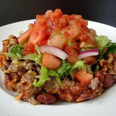 Emily's Excellent Taco Casserole your mom Beef Recipes, Mexican Food Recipes, Cooking Recipes, Recipies, Taco Casserole, Casserole Recipes, Casserole Dishes, Easy Dinner Recipes, Great Recipes