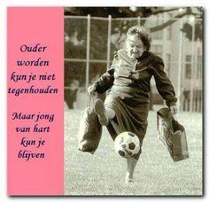 Ouder worden ....