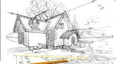 House in perspective by Lineke-Lijn