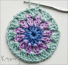 Crochet .  Granny Square