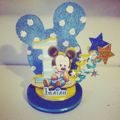Mickey Mouse 1st Birthday Party Favor/ by DesignzbyGlo on Etsy, $15.00