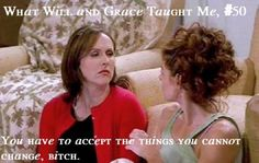 ThanksWhat Will and Grace Taught Me awesome pin Karen Walker Quotes, Molly Shannon, Debra Messing, Thought Bubbles, Will And Grace, Great Tv Shows, Lets Do It, Tv Quotes, I Can Relate
