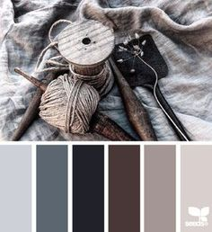 Feathered palette | design seeds | Bloglovin'