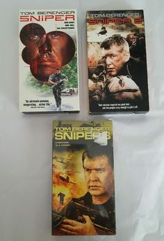 Lot of 3 Sniper VHS Tapes Parts 1, 2 & 3 Brand New & Used in DVDs & Movies, VHS Tapes | eBay Christmas Shopping