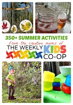 The Ultimate Guide to Fun Summer Activities for Kids + The Weekly Kids Co-Op Link Party at B-Inspired Mama #kids #play #Summer #kbn #binspiredmama