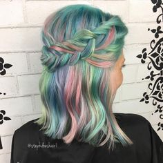 """103 Likes, 6 Comments - Stephanie Williams (@stephdoeshair1) on Instagram: """"I so enjoyed doing this color on @lashawn2387 @pulpriothair is my paint prepped with blondeaf my…"""""""