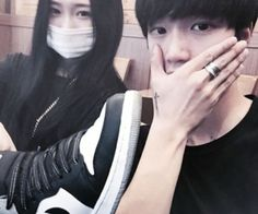 Find images and videos about girl, ulzzang and korea on We Heart It - the app to get lost in what you love. Korean Boy, Korean Ulzzang, Korean Couple, Ulzzang Boy, Love You Boyfriend, Future Boyfriend, Most Beautiful Images, Beautiful Couple, Bff Pictures