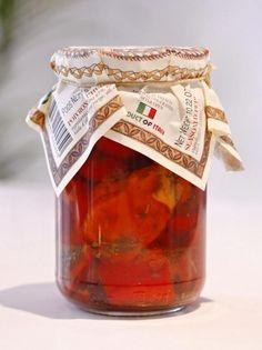 $7.99 Sicilian Seasoned Peppers in Oil 290g Villa Reale #leonegourmet