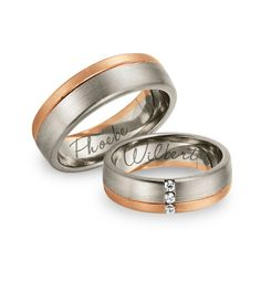 Ways to personalise your wedding rings