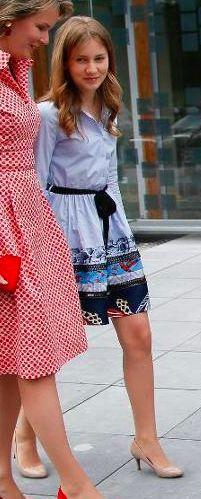 Princesse Elisabeth, duchesse de Brabant, 29 juin 2017, Fête d'anniversaire pour les 80 ans de la reine Paola, Chapelle musicale Reine Elisabeth, Waterloo