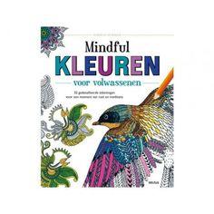 Kleurboek voor volwassenen Mindful kleuren.   #Mindfulkleuren#kleurenvoorvolwassenen#Kleuren#Creatief#Cadeauvoorhem#Cadeauvoorhaar