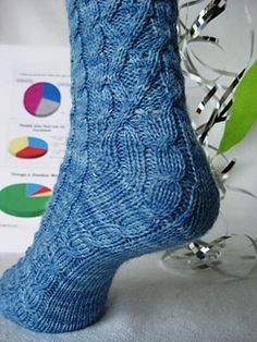 Mullet Socks by Wendy Gaal has been in my queue for way too long.  Need to get going on this one.