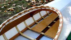 building the Greenland style kayak Wood Canoe, Wooden Kayak, Wooden Boats, Home Workshop, Workshop Ideas, Kayaking Gear, Diy Boat, Canoe And Kayak, Garden Bridge