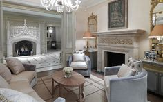 Private Residential Family Home London |    David Collins  |  Luxury Residential Interior Design