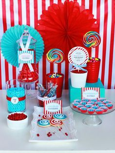 Candy station