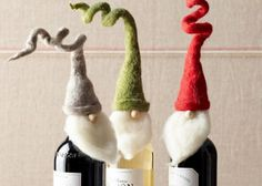 Santa Wine Toppers - Shopahub - Things you love handpicked for you