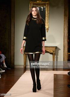 black dress runway - Google Search