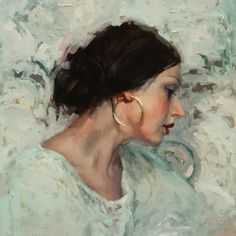 Portrait of a Ukrainian Woman by Jeremy Mann