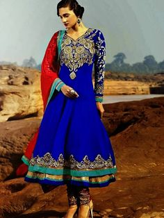 FREE COD at NaariStyle.com Call 7755912933 for more details.  http://www.naaristyle.com/anarkali-suit/rama-anarkali