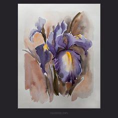 Цветы и натюрморты акварелью | Акварельная живопись | Галерея живописи | KRISTY GALLERY - галерея фотографии, живописи маслом, акварели, гравюры, арт-декор