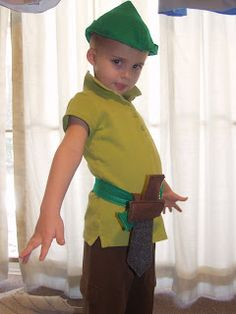 Super Easy Peter Pan costume