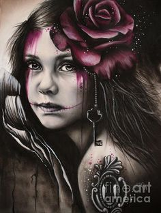 Inner Child by Sheena Pike - Inner Child Drawing - Inner Child Fine Art Prints and Posters for Sale
