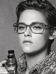 Kristen Stewart for Chanel. Perfection.
