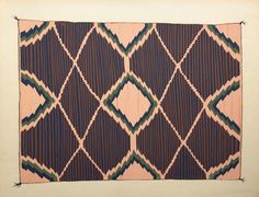 starting in 1935, Russell Vernon Hunter & Chapman of the Library of Anthropology in Santa Fe set out to develop a portfolio of Navajo blankets spanning 1840-1910 via an ambitious project collapsing