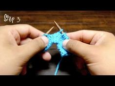 How to Knit the Slip Knit Pass Decrease (SKP)