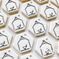 Farm Cookies, Cookie Bakery, Cute Cookies, Cupcake Cookies, Christmas Biscuits, Christmas Sugar Cookies, Christmas Desserts, Christmas Baking, Merry Christmas