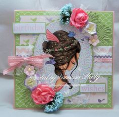 Saffire's Stamping: Julia Spiri New Release - Birds and Hair
