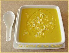 SA CUINA DE NA ROSER: thermomix. Crema de calabacin y zanahorias