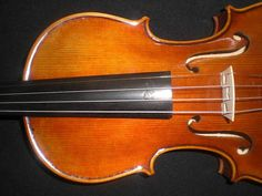 1 PC High Quality Violin painted European wood antique vanish spruce top maple back ebony accessories 4/4