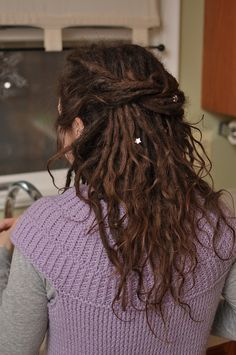 curly wispy dreads, hope mine turn out something like this