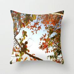 Fall Upon Us.  Throw Pillow by Celia Dias - $20.00
