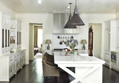 """This kitchen was part of our """"Get That Blackberry Farm Look for Your Own Home"""" article featuring Atlanta interior designer Suzanne Kasler. Photography by Erica George Dines, courtesy of """"Suzanne Kasler: Timeless Style,"""" Rizzoli 2013"""