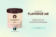 favorite ice cream flavor - With a new campaign called 'Flavorize Me,' Talenti is putting Facebook, Twitter and Instagram to use in order to call out a favorite ic...