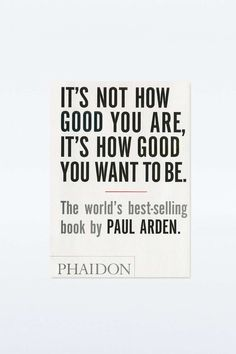 """It's Not How Good You Are ..."" Buch"