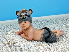 Baby boy outfit, Infant knit set, knited baby clothing, mouse crochet set infant crochet pants newborn knit outfit baby knitwear infant wear - pinned by pin4etsy.com