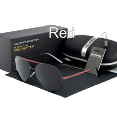 2d7ef5314a9 HDCRAFTER Sunglasses Men Polarized Mens Sunglasses Driving Sun Glasses for  Men 5 Colors UV400 Zonnebrillen 2017