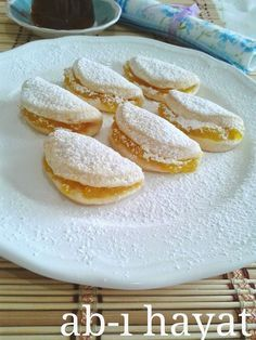 ab-ı hayat: Limon muhallebili kurabiye