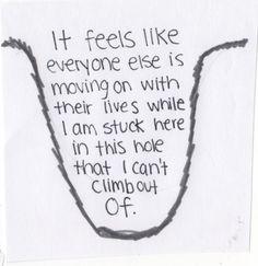 I'm just falling deeper and deeper