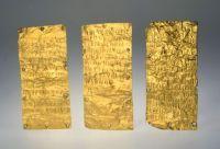 Etruscans:Lamine d'oro di Pyrgi, Museo di Villa Giulia, Roma