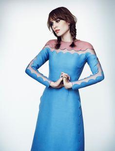 Alexa Chung in a very cool dress