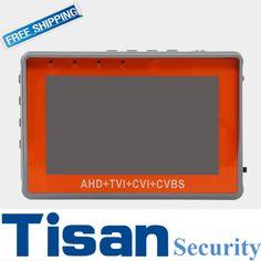 Newest 4.3 inch CCTV Tester HD AHD CVI TVI Analog 4 in 1 camera tester CVBS test monitor  UPT PTZ Audio test DC12V output #Affiliate