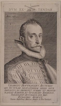 Georg Joris Hoefnagel (1542-1601) Flemish painter and engraver