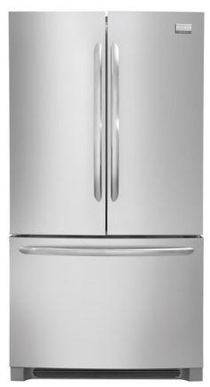$1689 FGUN2642LF Frigidaire Gallery 25.8 Cu. Ft. French Door Refrigerator - Stainless Steel