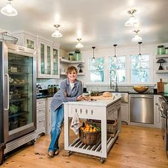 Modern-Country Kitchen Renovation | CookingLight.com